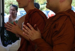 Bhikkhu Ordination of Amarasiri & Sirimedho
