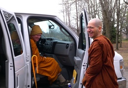 Ajahn Dick Departing