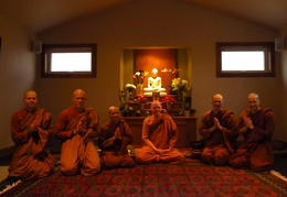 Sangha with Ajahn Dick