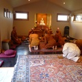 The Sangha pays its' respects to Ajahn Anando