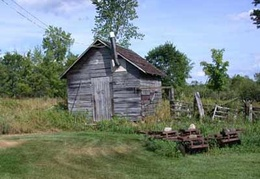 The property comes with an old granary