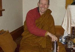 Ajahn Kusalo arrives from Australia