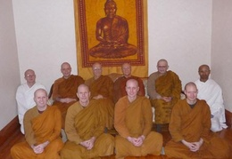 Tisarana's First Bhikkhu Ordination - October 31st, 2009