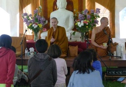 Ajahn Dtun's Visit - May, 2013