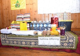 Kathina offerings