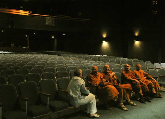 Ajahn Sumedho gave a talk at Perth and District Collegiate High School